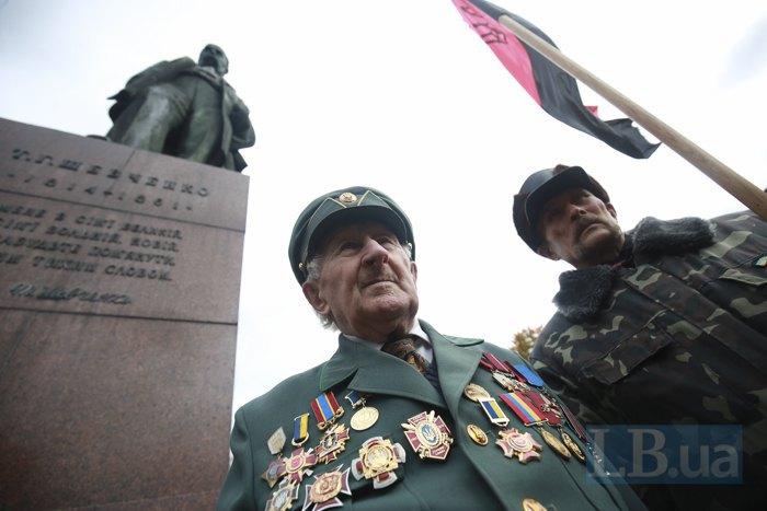 Рада предоставила воинам УПА статус ветеранов