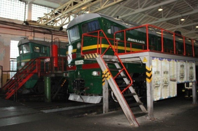 Директор Одесской железной дороги Вячеслав Еремин посетил локомотивное депо Николаев