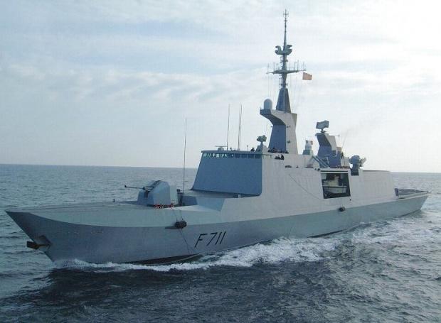 Ракетный фрегат-«невидимка» ВМС Франции La Fayette вошел в акваторию Черного моря