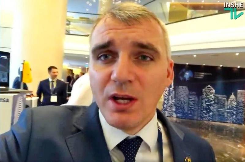 Сенкевич обвинил депутатов Николаевского горсовета в том, что они отбирают будущее у его детей