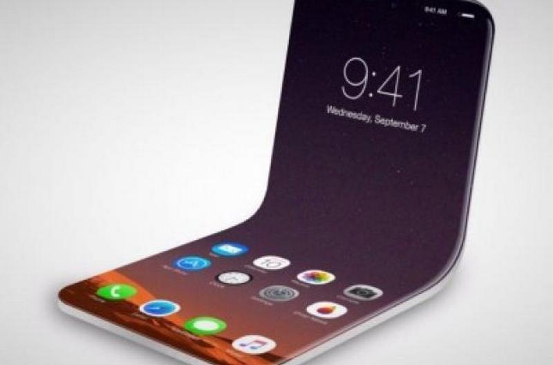 Apple получила патент на складной дисплей для смартфонов