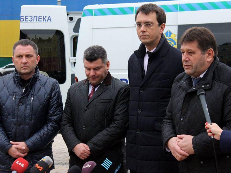 В Николаевскую область направят 4 из 26 передвижных габаритно-весовых комплексов, презентованных сегодня в Киеве