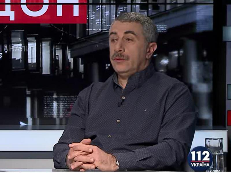 """Доктор Комаровский: """"Те, кого нам показывают по телевизору, – люди с интеллектом """"туалетного утенка"""""""