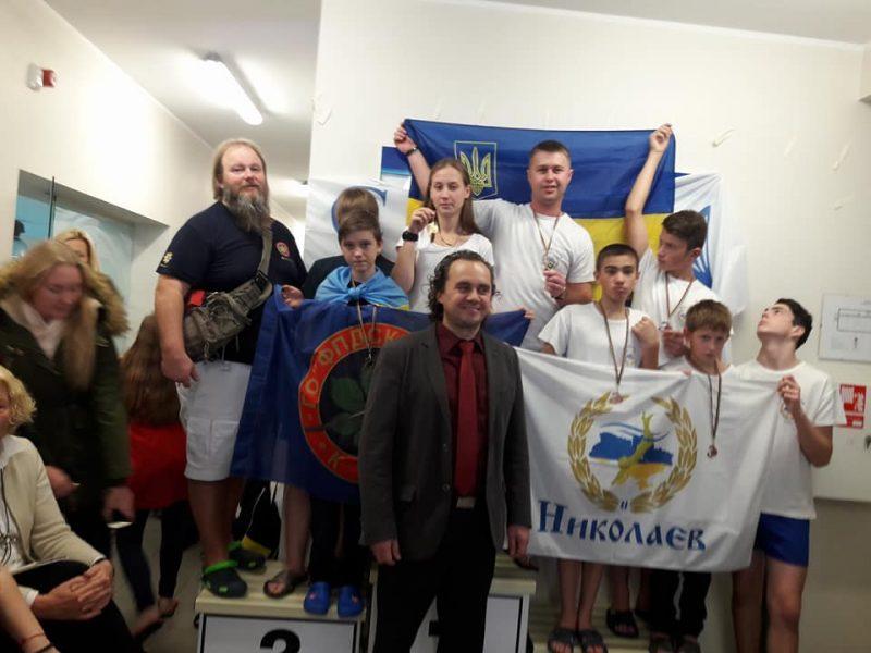 Николаевский спасатель вернулся с победой с Кубка мира по акватлону