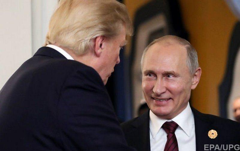 Путин заявил, что ему не удалось провести официальную встречу с Трампом из-за своей протокольной службы: «Будут наказаны за это»