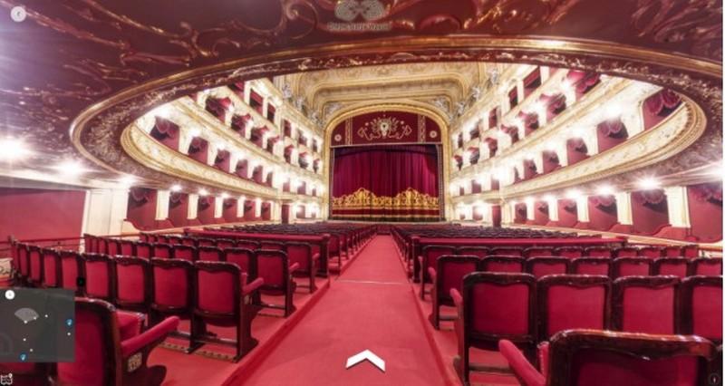 Google создал виртуальный 3D-тур по украинским оперным театрам