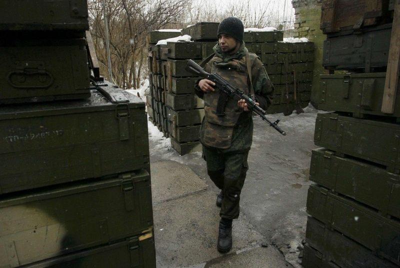 На Донбассе диверсанты атаковали склад вооружения украинской армии
