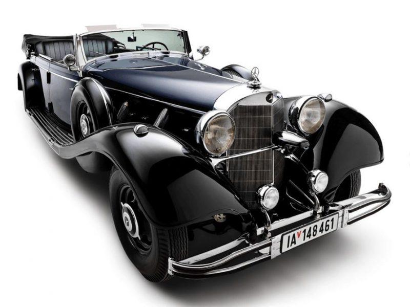 В РФ коллекционер нацистских авто решил продать обновленный броневик Гитлера