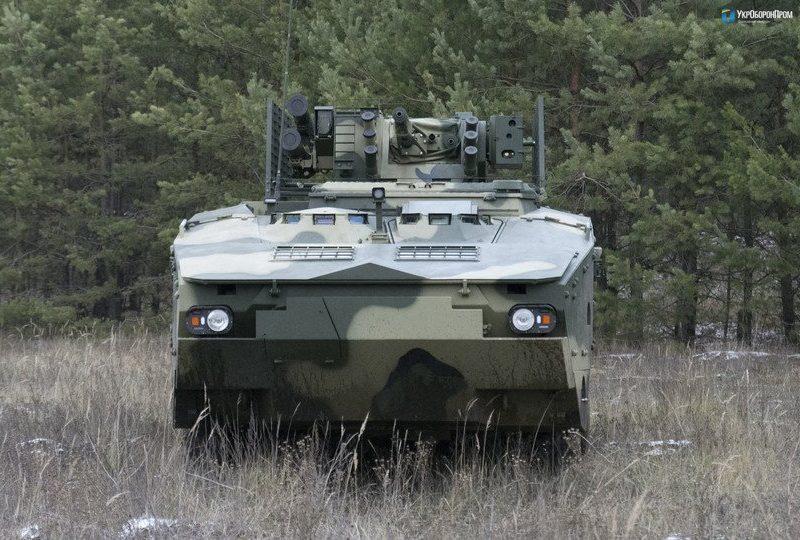 Укроборонпром завершил испытания БТР по стандартам НАТО