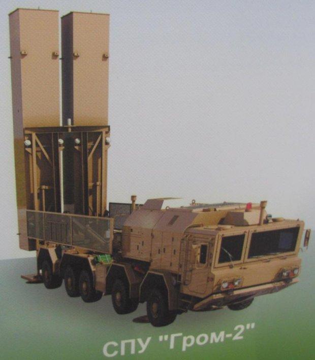 Вгосударстве Украина испытают новый мощнейший ракетный комплекс «Гром-2»