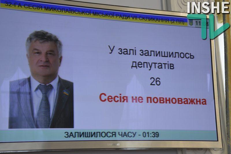Депутаты Николаевского горсовета так и не смогли утвердить повестку дня земельной сессии – она состоится в другой день