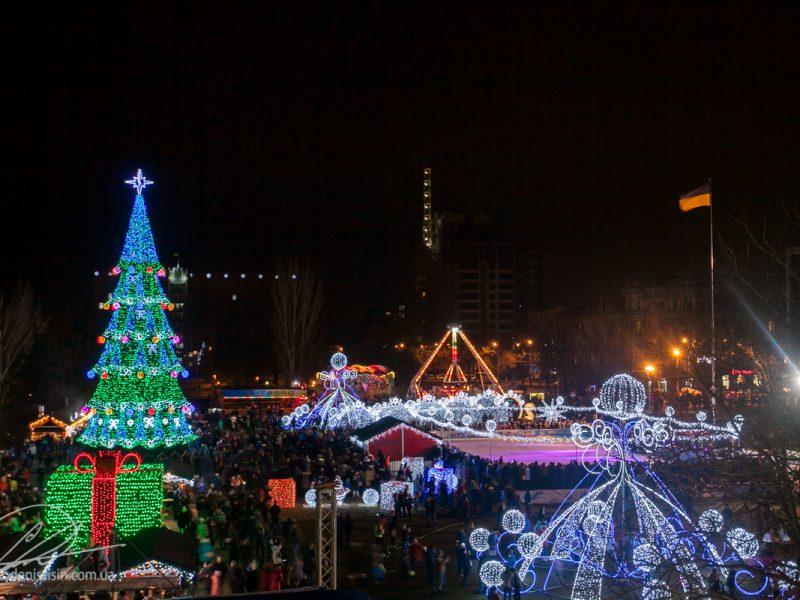 Самая-самая. Новая николаевская елка заняла первое место в Украине –  по цене
