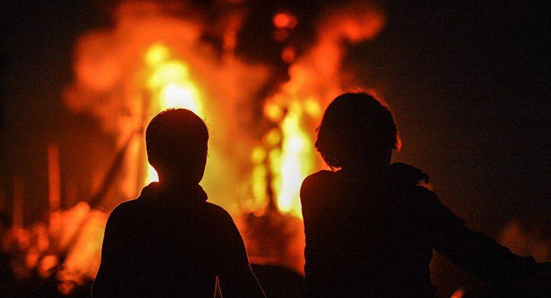 """В Одессе лидеру партии """"Самопомощь"""" сожгли автомобиль"""