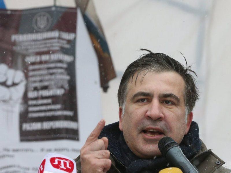Саакашвили в Греции атаковал неизвестный мужчина (ВИДЕО)