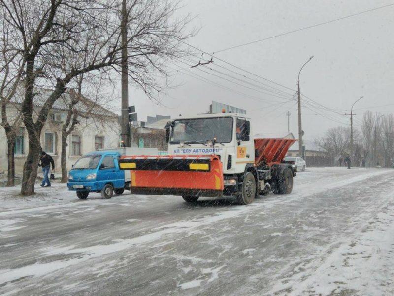 Николаев готов к сложным погодным условиям: в матрезерве города есть бензин, дизтопливо, газ и… лопаты