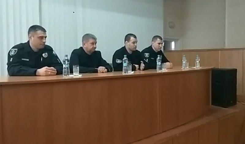 Официально представлен новый начальник патрульной полиции Николаевской области
