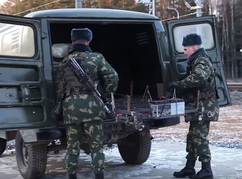 Литовско-белорусские контрабандисты испытали дрезину-беспилотник. На радость пограничникам