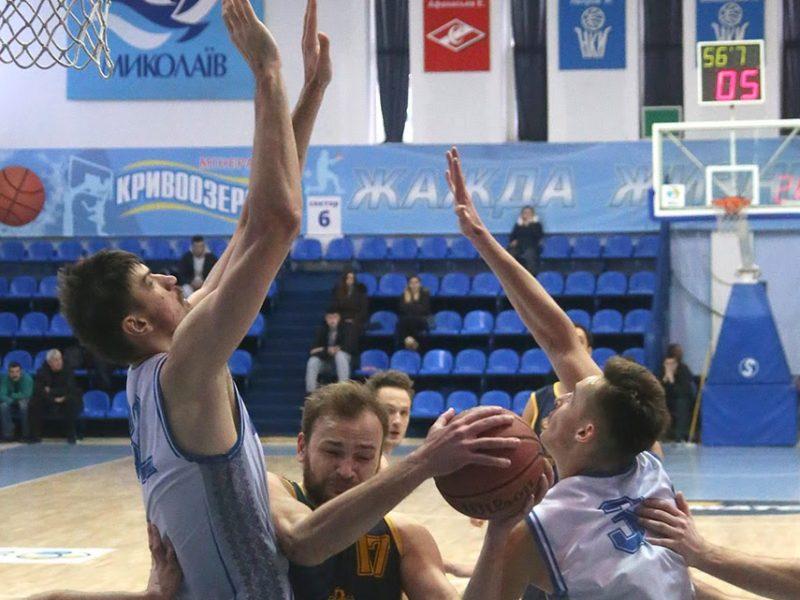 Нико-Баскет отыграл с командой из Кропивницкого напряженную игру