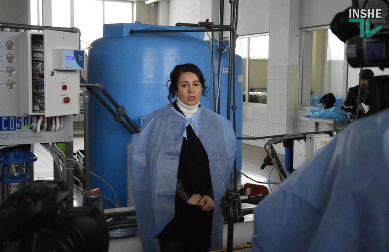 В поисках гепатита А: на фабрике «Чистая Вода» в Николаеве провели экскурсию для журналистов