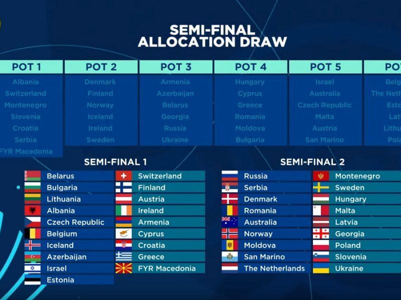 Украина выступит во втором полуфинале Евровидения-2018