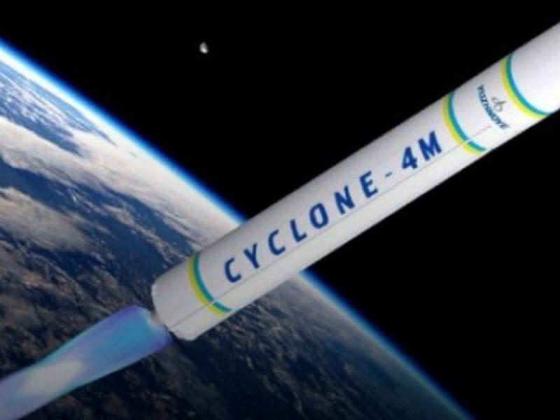 """В Украине отправят на испытания третью ступень ракеты-носителя """"Циклон-4"""""""