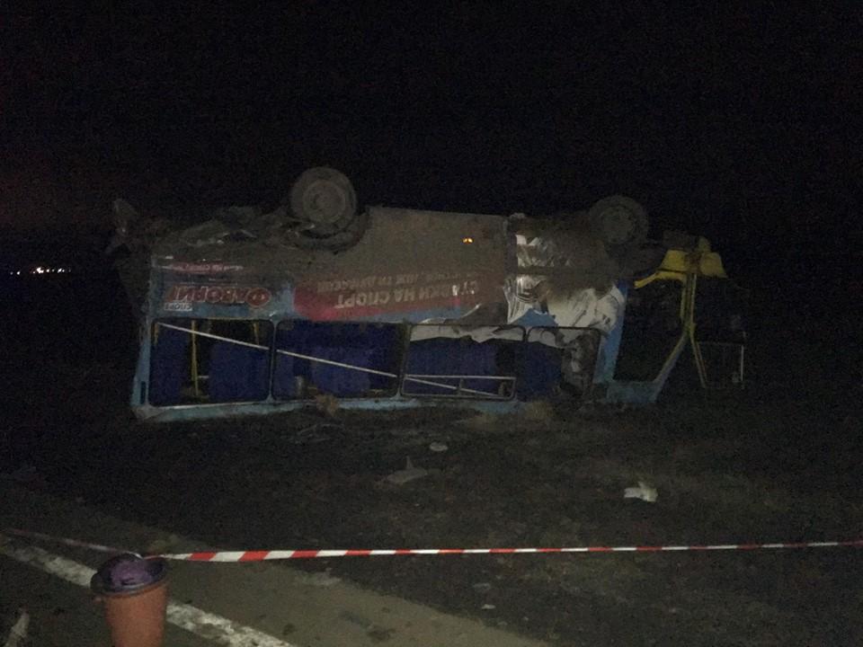 Фургон влетел вавтобус спассажирами наХерсонщине, люди были привезены вмедучреждения