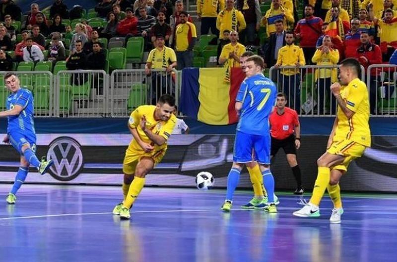 Футзальная сборная Украины вышла в плей-офф на Евро-2018