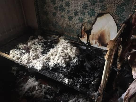 В Николаевской области сгорел пенсионер (фото)