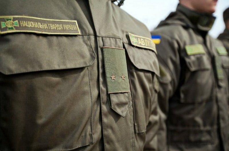 В Еланце солдат нацгвардии ночью открыл пальбу из стартового пистолета