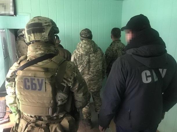 СБУ задержала за взяточничество чиновников таможни и Госпогранслужбы
