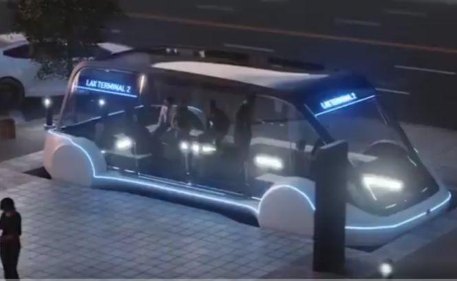 Скоростное метро? Маск показал тоннельный электробус