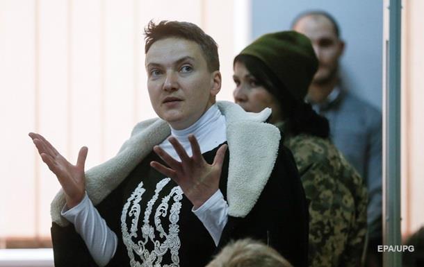 Надежда Савченко заявила, что нуждается в двух операциях