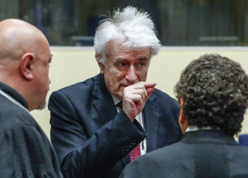 Суд Гааги начал рассматривать апелляцию Радована Караджича