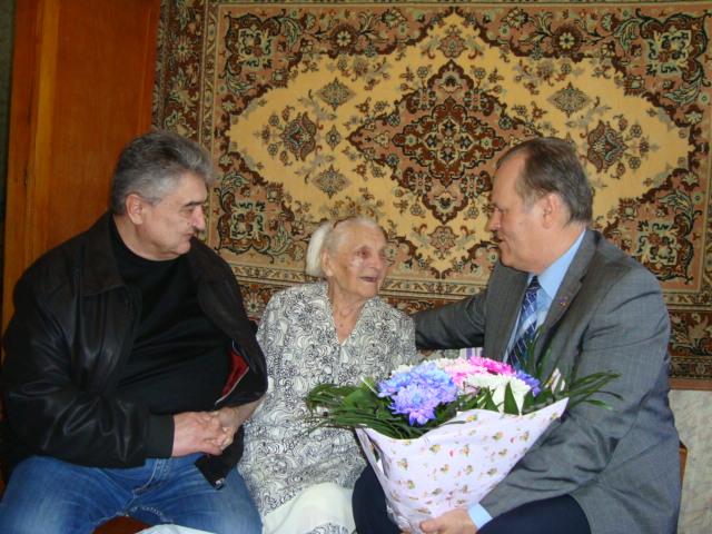 Самой «взрослой» жительнице Николаевской области – 107 лет