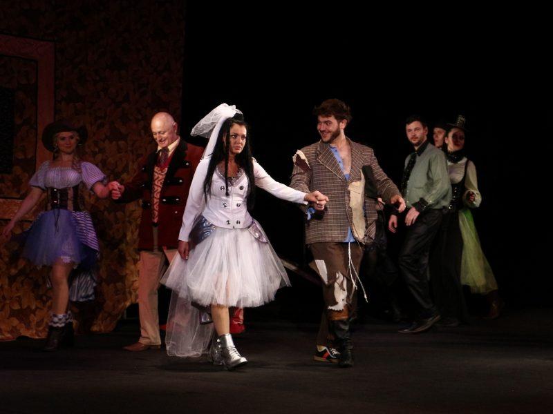 «Укрощение строптивой». Николаевским любителям театра представили премьеру шекспировской комедии