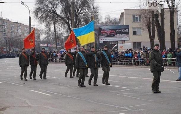 В Кривом Роге из-за парада с флагами СССР поменяли командира воинской части