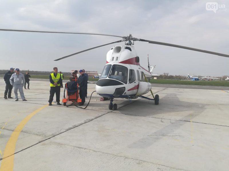 """Премьерный полет. """"Мотор Сич"""" подняла в небо первый украинский многофункциональный вертолет"""
