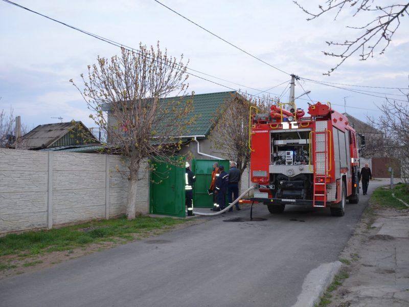 В Николаеве сгорел дом, а в нем — мать с сыном