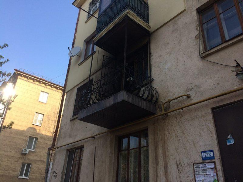 В Николаеве горел дом в переулке Радио