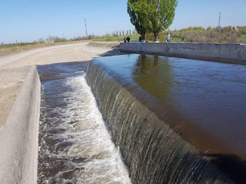 На Николаевщине запустили оросительную систему, которая наполняет водные артерии двух областей