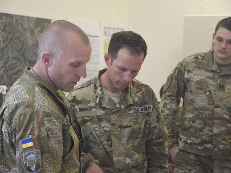 Николаевские десантники поучаствовали в планировании этапа международных учений Combined Resolve X