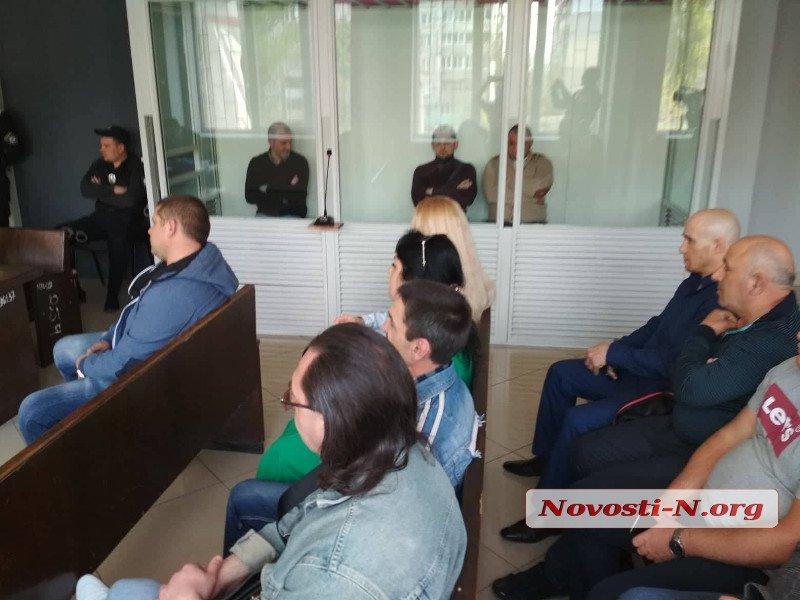 В Николаеве суд определил сумму залога для членов «банды Апти» 3