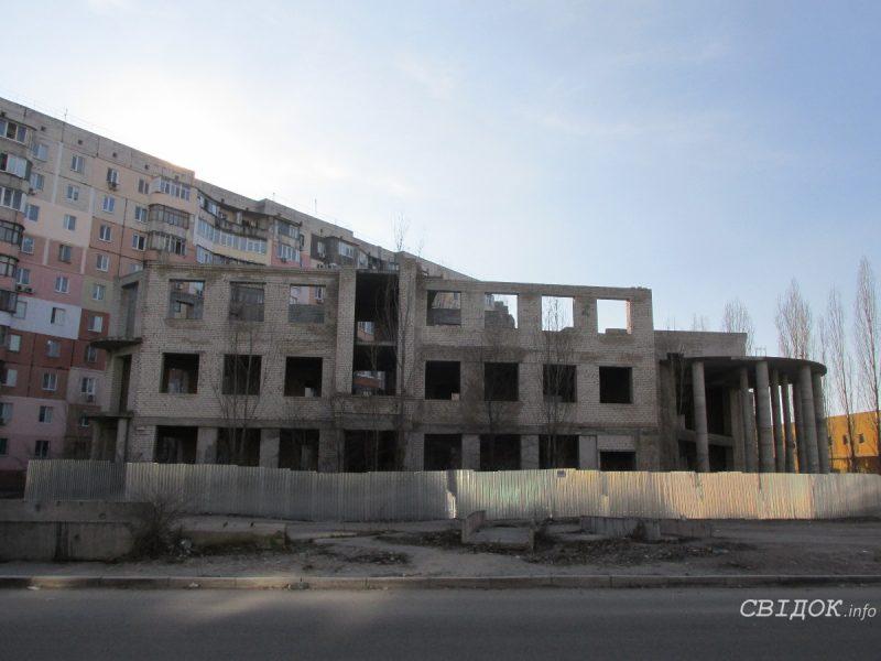 Мэрия Николаева готова заплатить 1,5 миллиона за проект для скандального недостроя на Намыве