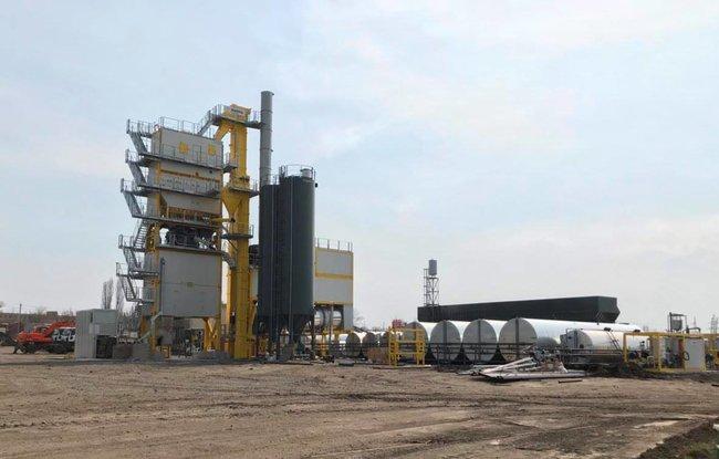 В Украине запустили мощный асфальтобетонный завод по итальянской технологии