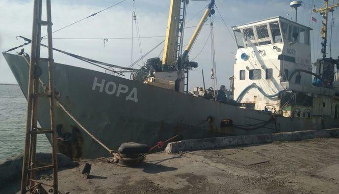 """Членов экипажа судна """"Норд"""" обменяли на семерых украинских рыбаков"""