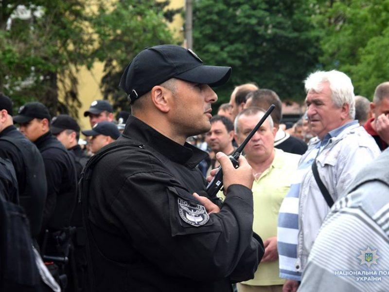 В Николаеве мероприятия ко Дню победы прошли без грубых нарушений – всего двое задержанных за георгиевские ленточки