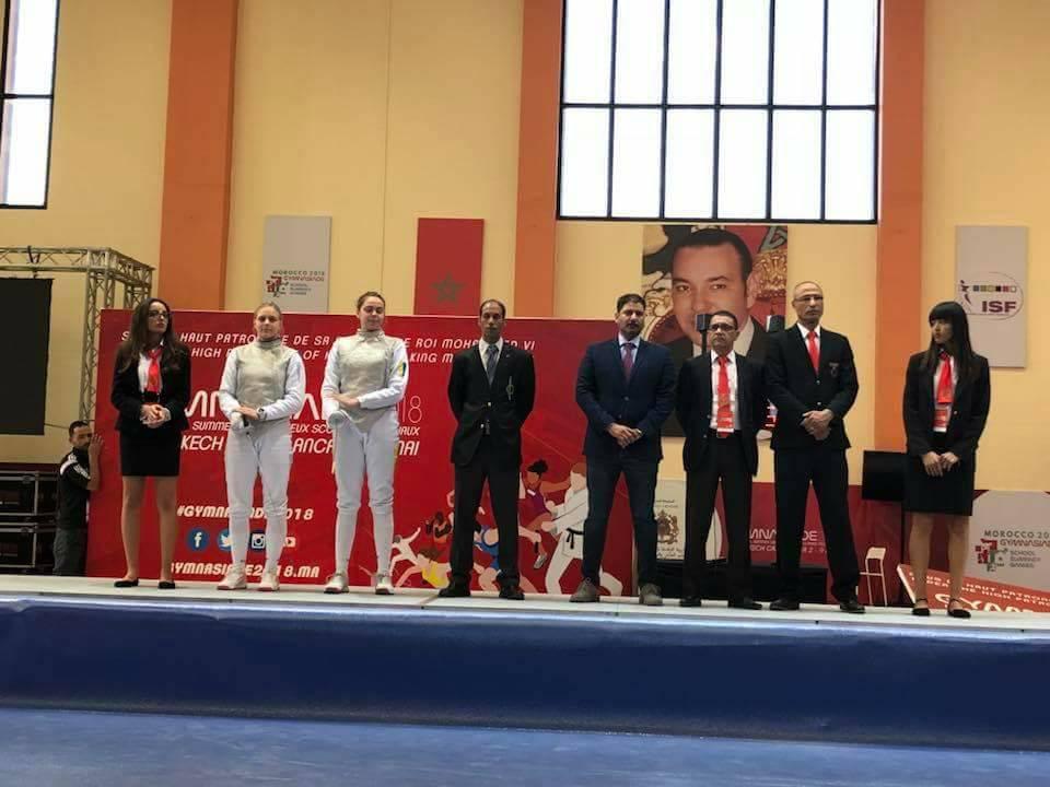 Украинские гимнастки завоевали золотую исеребряные медали на глобальной гимназиаде