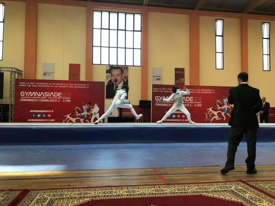 В 1-ый  день Гимназиады-2018 вМарокко украинские спортсмены завоевали 5  наград