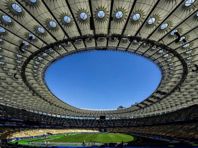 НСК Олимпийский подготовили к финалу Лиги чемпионов