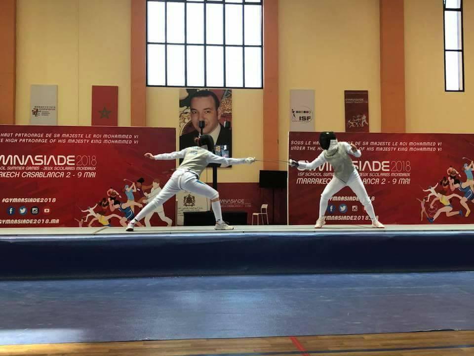 Николаевская фехтовальщица Полозюк завоевала серебро на глобальной летней Гимназиаде